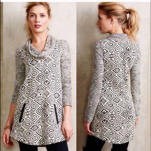 POSTMARK Anthropologie KONYA Cowl Neck Sweater Med